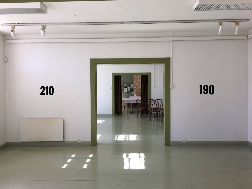 Alakerran huone 24 m2 seinät 210/190